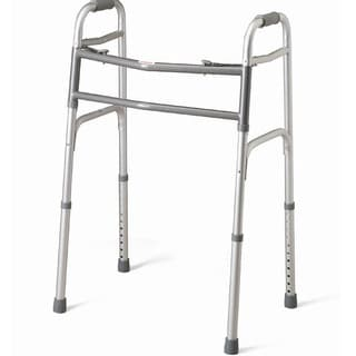 Medline Bariatric Two-button Folding Walker