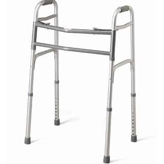 Medline Bariatric Two-button Folding Walker|https://ak1.ostkcdn.com/images/products/1769961/P10128667.jpg?impolicy=medium