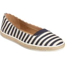 Women's A2 by Aerosoles Funny Bone Loafer Navy Stripe Fabric/Elastic