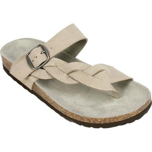 c277a568fed9 Shop Women s White Mountain Crawford Thong Sandal Grey Leather - Free  Shipping On Orders Over  45 - Overstock.com - 14795487
