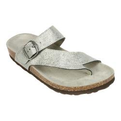 Women's White Mountain Carly Antique Silver Leather