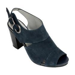 Women's White Mountain District Dark Blue Leather