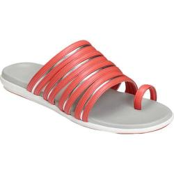 Women's Aerosoles Watchtower Toe Loop Sandal Coral Combo Faux Leather