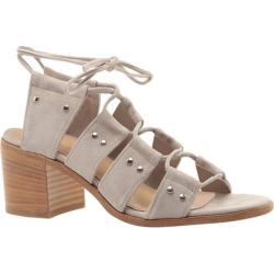 Women's Charles David Birch Ghillie Lace Sandal Grey Suede