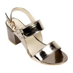 Women's Rialto Caroline Slingback Platinum Mirror Metallic Patent