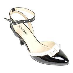 Women's Rialto Maggie Ankle-Strap Heel Black Patent