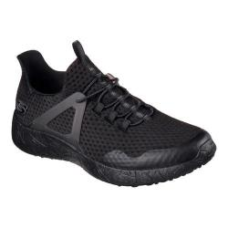 Men's Skechers Burst Shinz Bungee Lace Shoe Black/Black