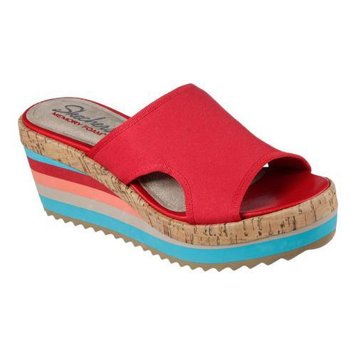 21cdb87c9d80 Shop Women s Skechers Heart Breaker Young Love Slide Wedge Sandal Red -  Free Shipping On Orders Over  45 - Overstock - 14810577
