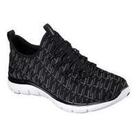 Women's Skechers Flex Appeal 2.0 Insights Walking Sneaker Black/Charcoal