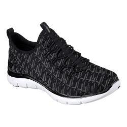 Women's Skechers Flex Appeal 2.0 Insights Walking Sneaker Black/Charcoal