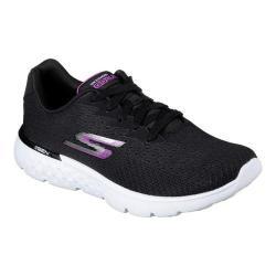 Women's Skechers GOrun 400 Sole Trainer Black/Purple