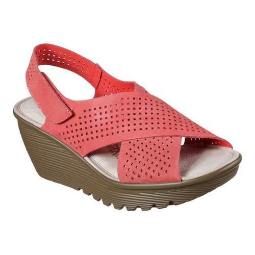 498a5ecff29f Women  x27 s Skechers Parallel Infrastructure Platform Slingback Coral