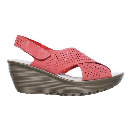 ecc21b21e027 Shop Women s Skechers Parallel Infrastructure Platform Slingback Coral - Free  Shipping Today - Overstock - 14810613