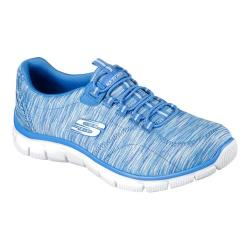 Women's Skechers Relaxed Fit Empire Game On Walking Shoe Blue