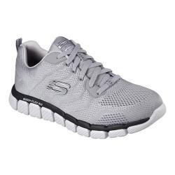 Men's Skechers Skech-Flex 2.0 Milwee Training Shoe Light Gray/Black