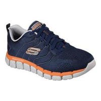 Men's Skechers Skech-Flex 2.0 Milwee Training Shoe Navy/Orange
