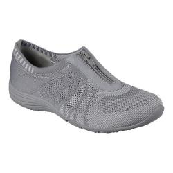Women's Skechers Unity Transcend Zip-Up Sneaker Gray