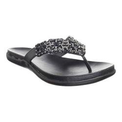 Women's Kenneth Cole Reaction Glam-Athon Sandal Midnight Polyurethane