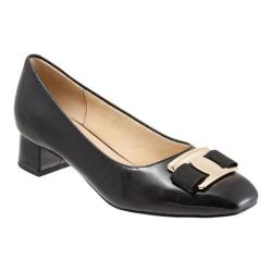 Women's Trotters Louise Pump Black Leather