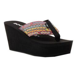 Women's Rocket Dog Diver Wedge Sandal Multi Fabric