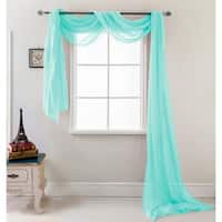 RT Designers Collection Celine 216 inch Sheer Curtain Scarf