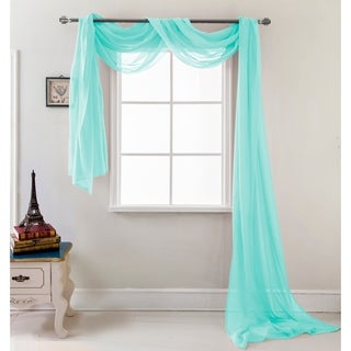 RT Designers Collection Celine 216 inch Sheer Curtain Scarf (More options available)