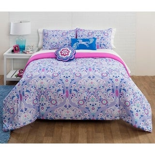 Floral Trellis 5-piece Comforter Set