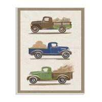 Stupell Industries Vintage Tractor Illustration Wall Plaque Art