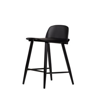 Handmade SoCo Counter Stool in Black (China)