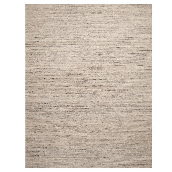 Handmade Herat Oriental Indo Chenille Contemporary Flatweave Rug (India) - 8' x 10'