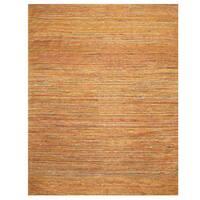 Herat Oriental Indo Hand-tufted Chenille Contemporary Flatweave Rug (8' x 10') - 8' x 10'
