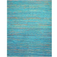 Herat Oriental Indo Hand-tufted Chenille Contemporary Flatweave Rug - 8' x 10'