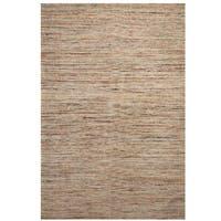 Handmade Herat Oriental Indo Chenille Contemporary Flatweave Rug (India) - 8' x 11'6