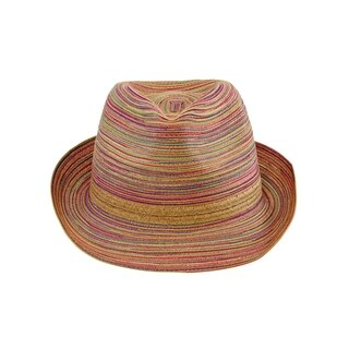 San Diego Hat Company/Four Buttons Collection/Fedora - rust