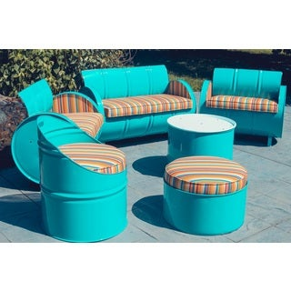 Handmade Outerbanks Indoor/Outdoor 6 Piece Conversation Set Plus (USA)
