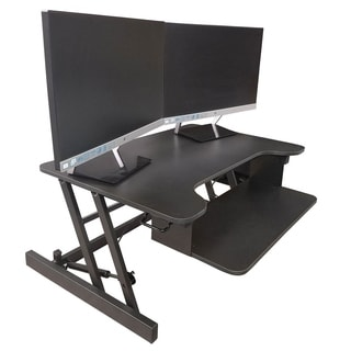Lorell Sit To Stand Monitor Riser Free Shipping Today