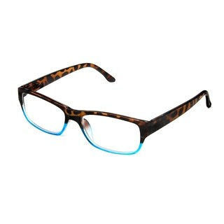 Hot Optix Two-Toned Unisex Rectangular Reading Glass