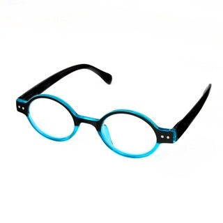 Hot Optix Ladies Round Two-Toned Reading Glasses