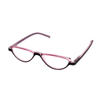 Hot Optix Ladies Two-Toned Half-Eye Reading Glasses