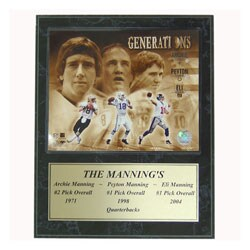 Three Mannings 12x15-inch Plaque
