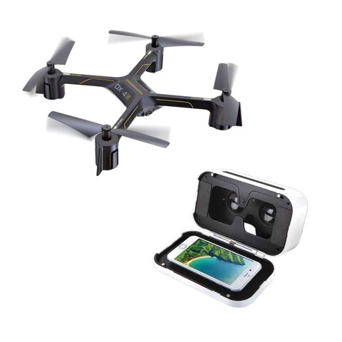 Sharper Image DX-4 HD Video FPV Streaming Drone
