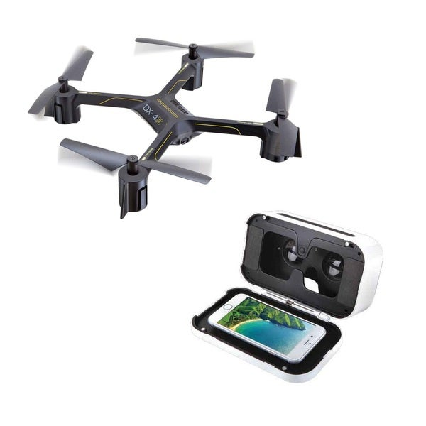 Shop Sharper Image Dx 4 Hd Video Fpv Streaming Drone Free Shipping