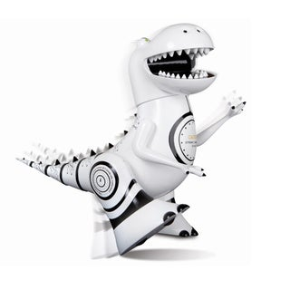 Sharper Image White/Black Robotosaur