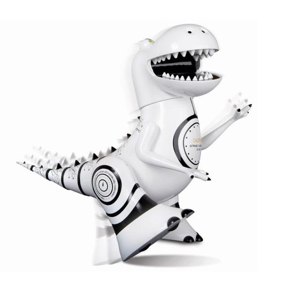Sharper Image White/Black Robotosaur