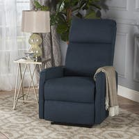 Sofie Tufted  Fabric Power Recliner by Christopher Knight Home
