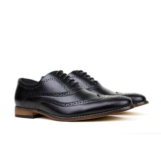 UV Signature Men's Wing Tip Lace-up Dress Shoes