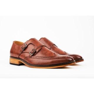 UV Signature Men's Monk Strap Brogue Dress Shoes (More options available)