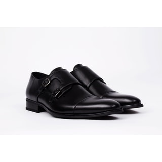 UV Signature Men's Monk Strap Dress Shoes