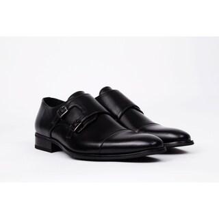 UV Signature Men's Monk Strap Dress Shoes