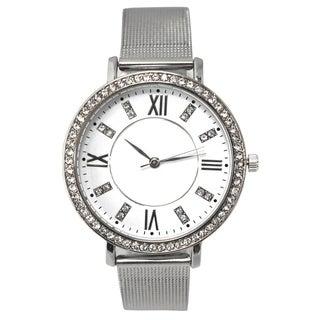 Olivia Pratt Women's Thin Mesh-styled Watch